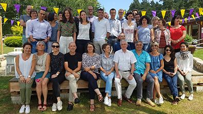 L'équipe de l'ADEME Auvergne-Rhône-Alpes 2018